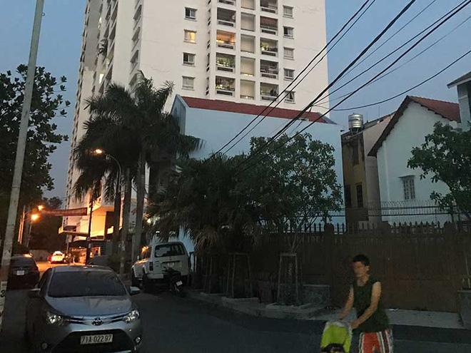 Chung cư 4S, quận Thủ Đức (TP.HCM)nơi ông Kim Daw Woo mua căn hộ và mỏi mòn chờ cấp giấy. Ảnh: CT